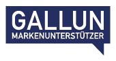 Sponsor Logo Gallun Markenunterstützer